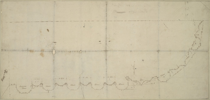 [Drawn plan of Henry VII Chapel]
